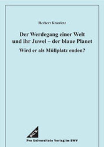 eBook Der Werdegang einer Welt und ihr Juwel - der blaue Planet Cover