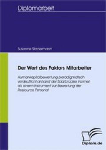 eBook Der Wert des Faktors Mitarbeiter Cover