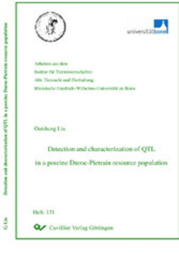 eBook Detection and characterization of QTL in a porcinen Duroc-Pietrain resource population Cover