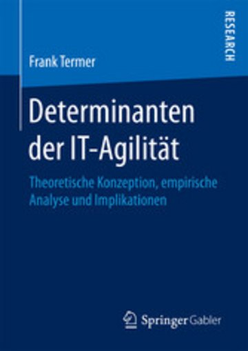 eBook Determinanten der IT-Agilität Cover