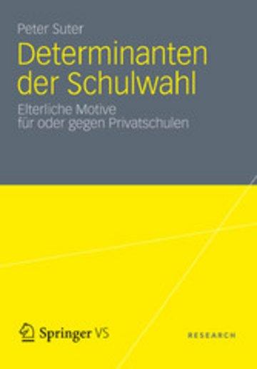 eBook Determinanten der Schulwahl Cover