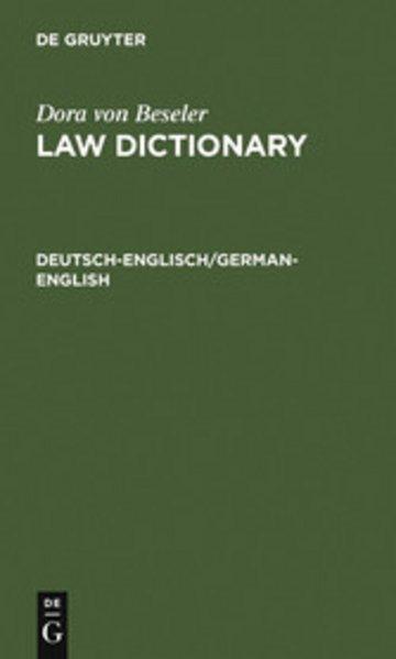 eBook Deutsch-Englisch/German-English Cover