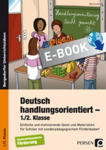 eBook Deutsch handlungsorientiert - 1./2. Klasse Cover