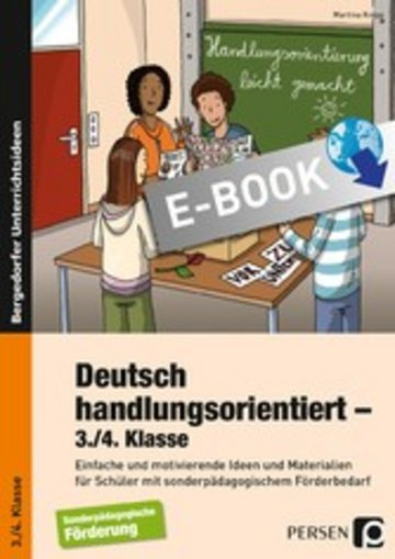eBook Deutsch handlungsorientiert - 3./4. Klasse Cover