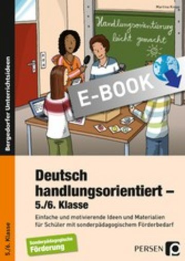 eBook Deutsch handlungsorientiert - 5./6. Klasse Cover