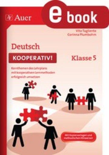 eBook Deutsch kooperativ Klasse 5 Cover