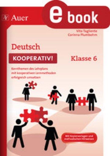eBook Deutsch kooperativ Klasse 6 Cover