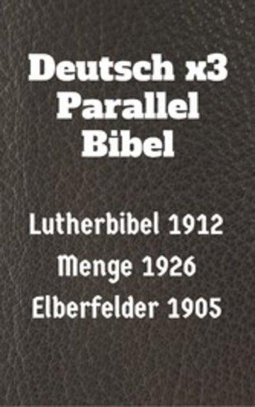 eBook Deutsch x3 Parallel Bibel Cover