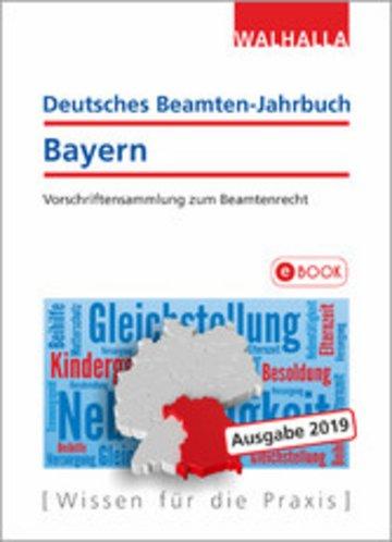 eBook Deutsches Beamten-Jahrbuch Bayern Jahresband 2019 Cover