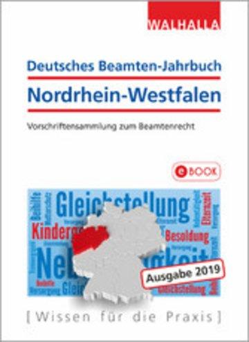 eBook Deutsches Beamten-Jahrbuch Nordrhein-Westfalen Jahresband 2019 Cover