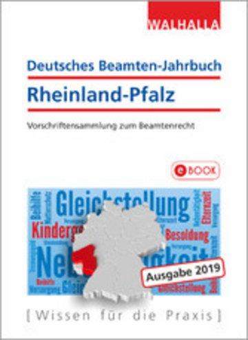 eBook Deutsches Beamten-Jahrbuch Rheinland-Pfalz Jahresband 2019 Cover