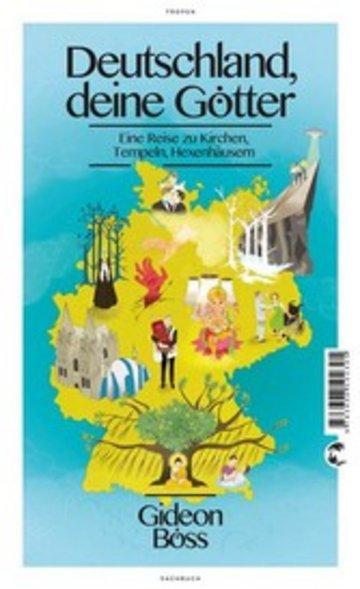 eBook Deutschland, deine Götter Cover