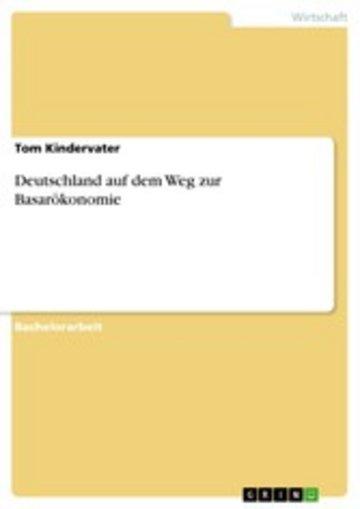 eBook Deutschland auf dem Weg zur Basarökonomie Cover