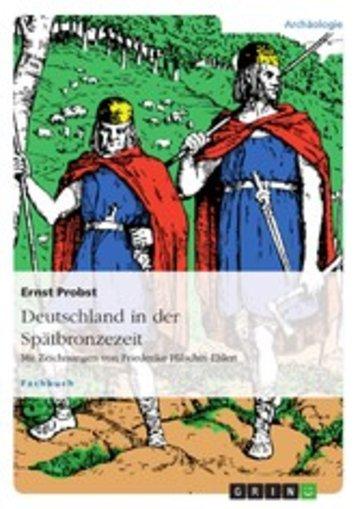 eBook Deutschland in der Spätbronzezeit Cover