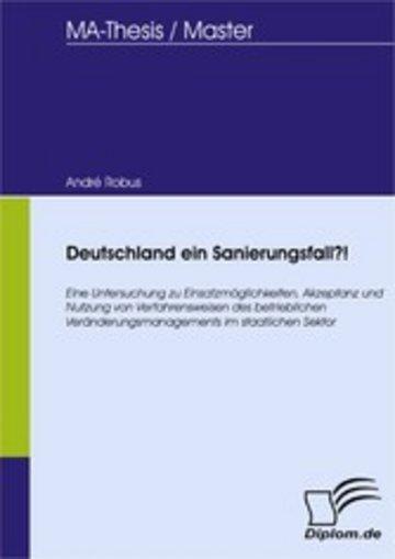 eBook Deutschland ein Sanierungsfall?! Cover