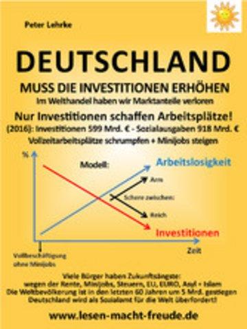 eBook Deutschland muss die Investitionen erhöhen Cover