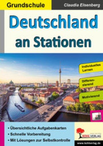 eBook Deutschland an Stationen / Grundschule Cover