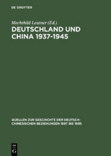 eBook Deutschland und China 1937-1945 Cover