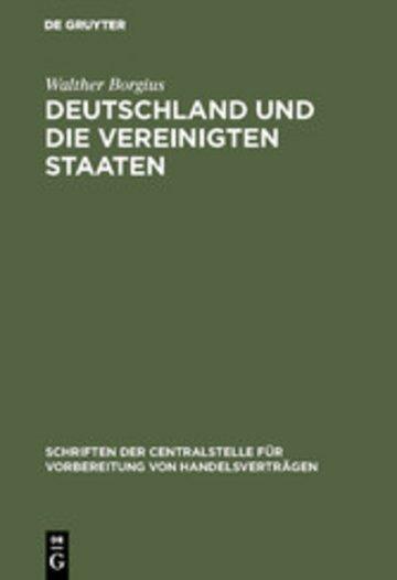 eBook Deutschland und die Vereinigten Staaten Cover