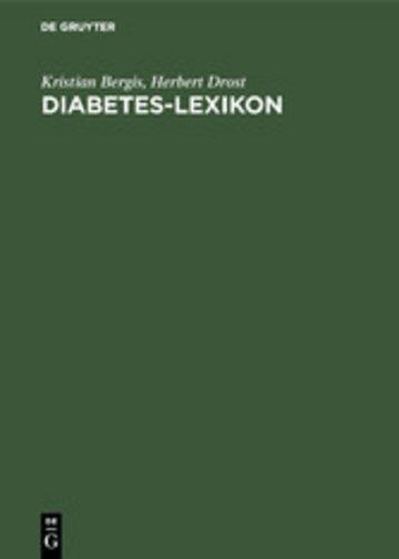 eBook Diabetes-Lexikon Cover