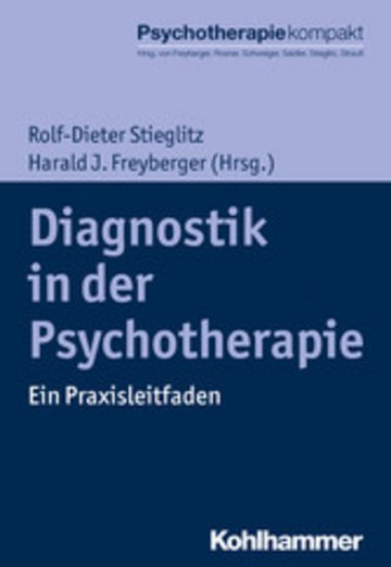 eBook Diagnostik in der Psychotherapie Cover