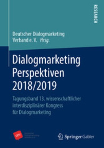 eBook Dialogmarketing Perspektiven 2018/2019 Cover