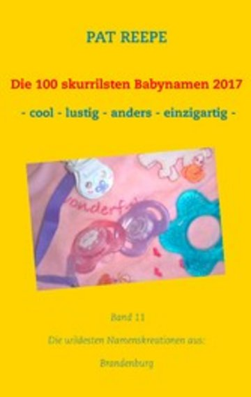 eBook Die 100 skurrilsten Babynamen 2017 Cover