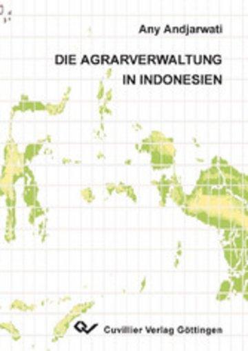 eBook Die Agrarverwaltung in Indonesien Cover