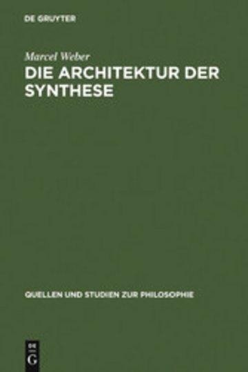 eBook Die Architektur der Synthese Cover