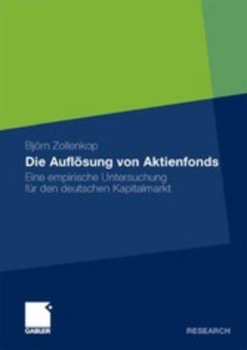 eBook Die Auflösung von Aktienfonds Cover