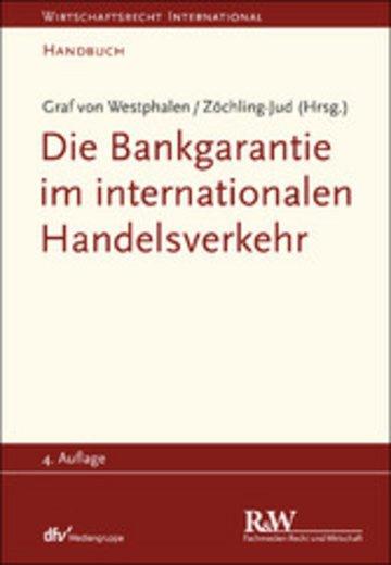 eBook Die Bankgarantie im internationalen Handelsverkehr Cover