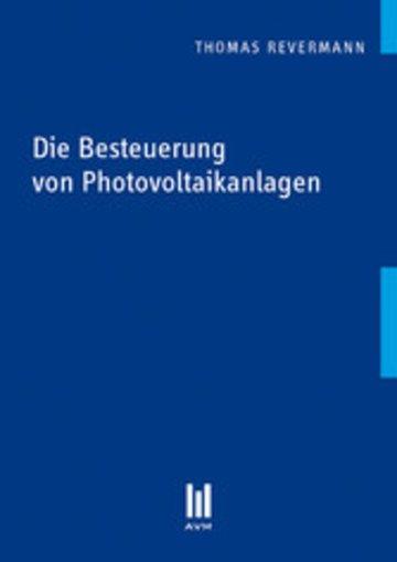 eBook Die Besteuerung von Photovoltaikanlagen Cover
