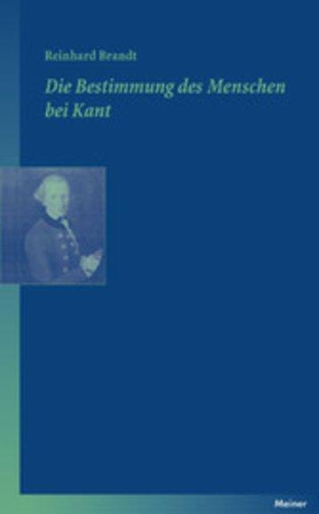 eBook Die Bestimmung des Menschen bei Kant Cover