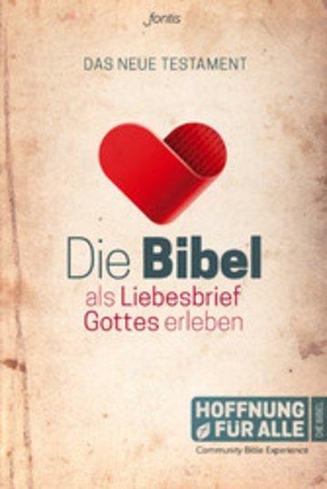 eBook Die Bibel als Liebesbrief Gottes erleben Cover