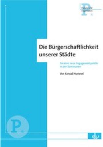 eBook Die Bürgerschaftlichkeit unserer Städte Cover