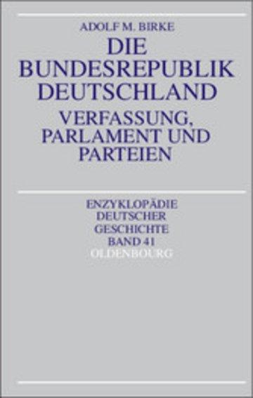 eBook Die Bundesrepublik Deutschland Cover