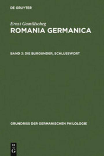 eBook Die Burgunder, Schlußwort Cover