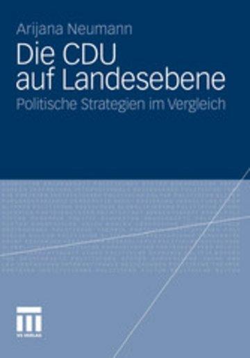 eBook Die CDU auf Landesebene Cover