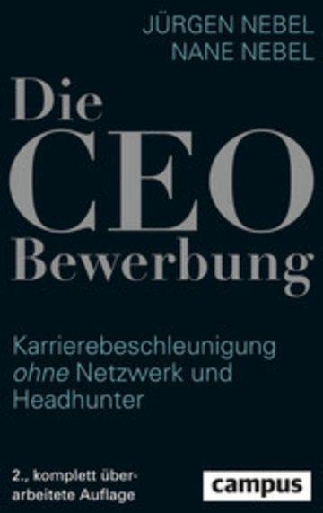 eBook Die CEO-Bewerbung Cover