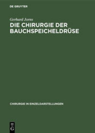 eBook Die Chirurgie der Bauchspeicheldrüse Cover