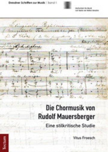 eBook Die Chormusik von Rudolf Mauersberger Cover