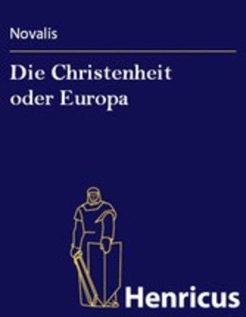 eBook Die Christenheit oder Europa Cover
