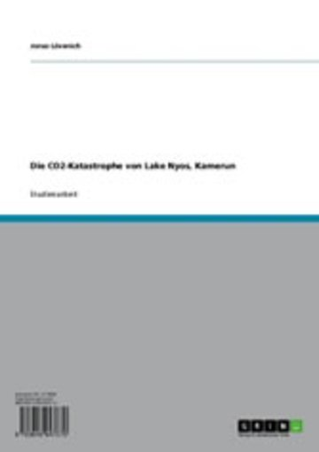 eBook Die CO2-Katastrophe von Lake Nyos, Kamerun Cover