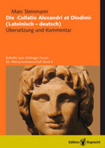 eBook Die »Collatio Alexandri et Dindimi« (lateinisch-deutsch) Cover