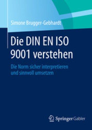 eBook Die DIN EN ISO 9001 verstehen Cover