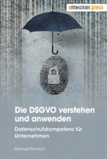 eBook Die DSGVO verstehen und anwenden Cover