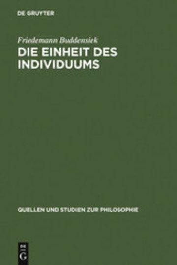 eBook Die Einheit des Individuums Cover