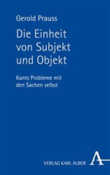 eBook Die Einheit von Subjekt und Objekt Cover