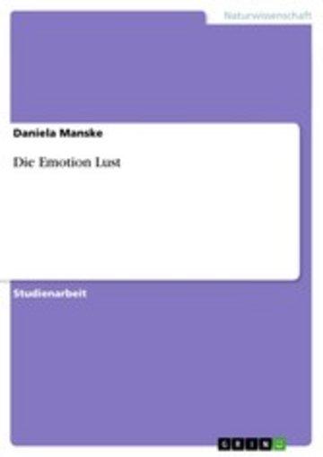 eBook Die Emotion Lust Cover