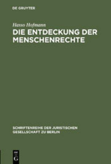 eBook Die Entdeckung der Menschenrechte Cover